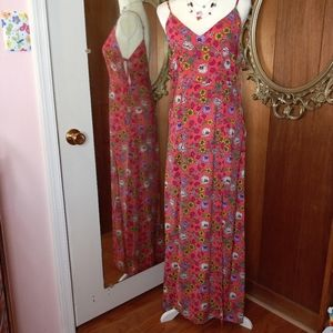THE ROOM by ARK & CO Floral Maxi Dress Sz M